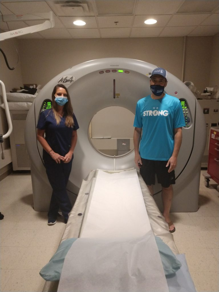 Howard Brown gets an MRI